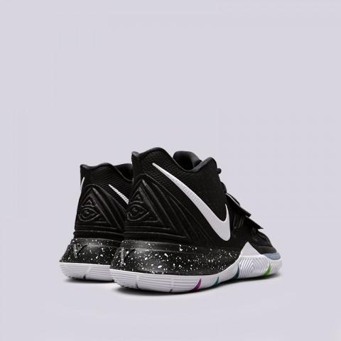 мужские чёрные  кроссовки nike kyrie 5 AO2918-901 - цена, описание, фото 3