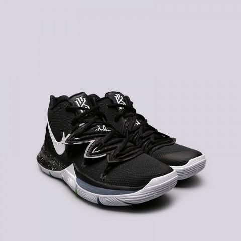 мужские чёрные  кроссовки nike kyrie 5 AO2918-901 - цена, описание, фото 2
