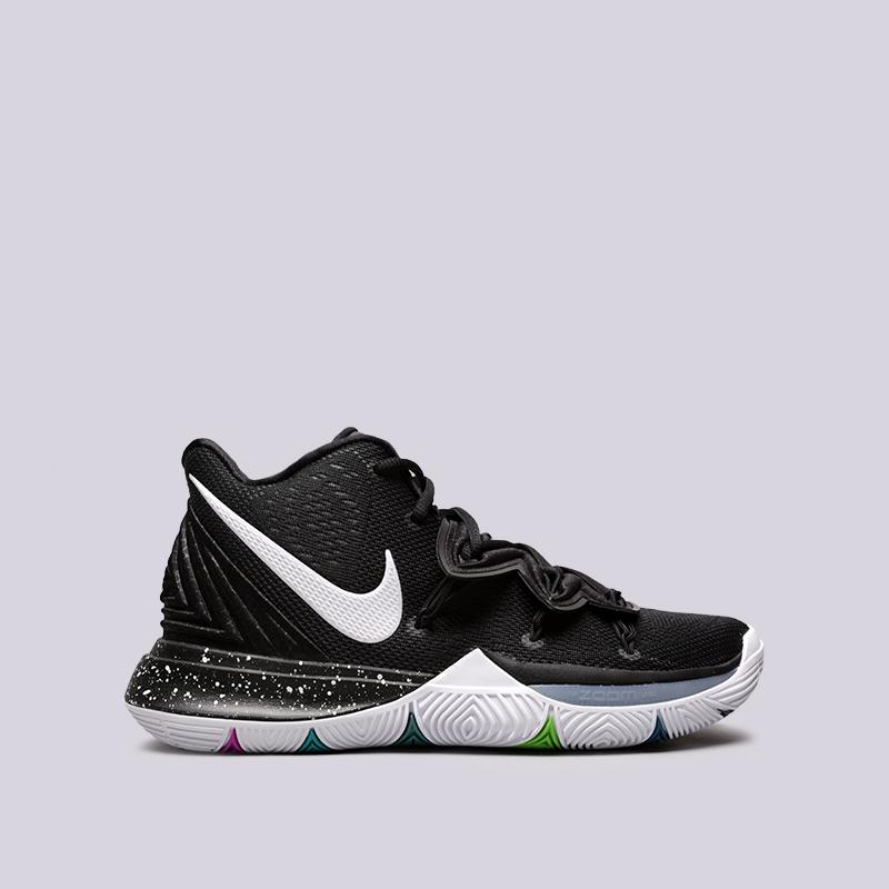 fcec170c1 мужские чёрные кроссовки nike kyrie 5 AO2918-901 - цена, описание, фото 1