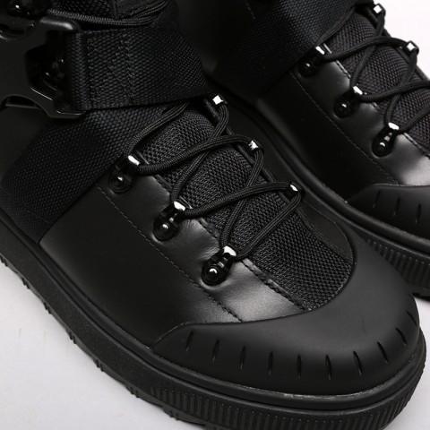 мужские чёрные  ботинки puma ren boot o.moscow 36710001 - цена, описание, фото 5