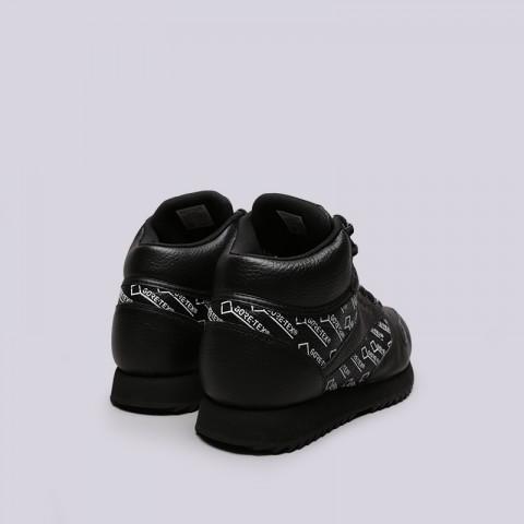 мужские чёрные  кроссовки reebok classic leather mid ripple gtx CN3949 - цена, описание, фото 4