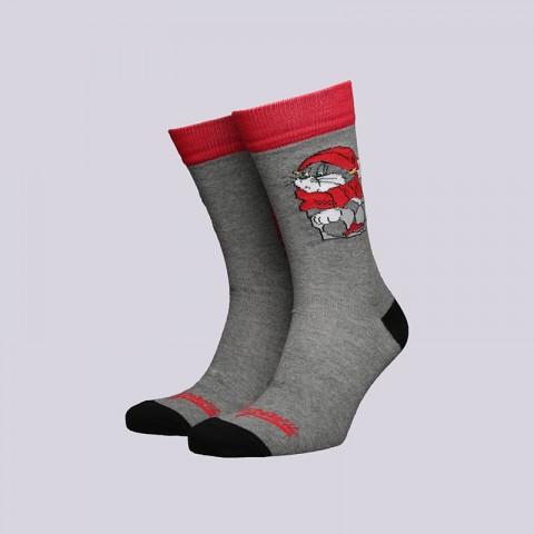 мужские серые  носки запорожец heritage матроскин Матроскин-18-серый - цена, описание, фото 1