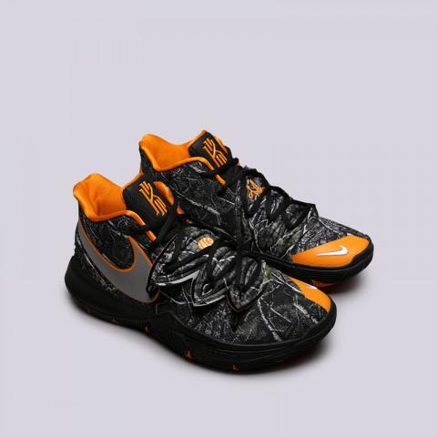 мужские чёрные  кроссовки nike kyrie 5 AO2918-902 - цена, описание, фото 3