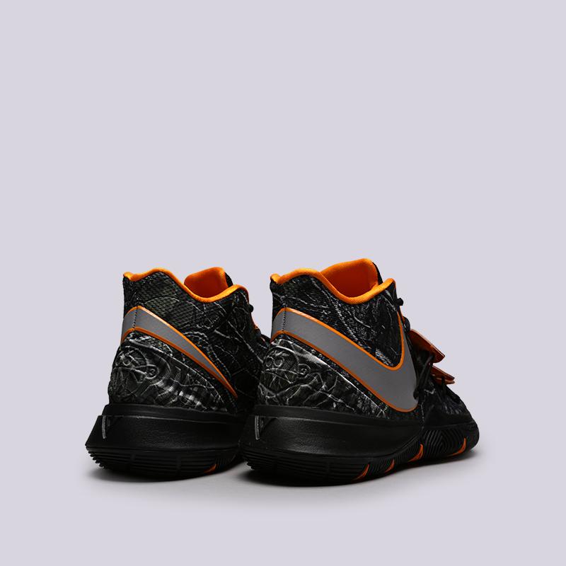 мужские чёрные  кроссовки nike kyrie 5 AO2918-902 - цена, описание, фото 4
