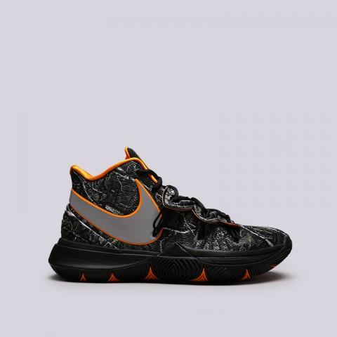 мужские чёрные  кроссовки nike kyrie 5 AO2918-902 - цена, описание, фото 1