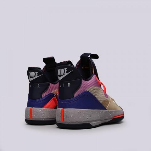 мужские мультиколор  кроссовки jordan 33 AQ8830-200 - цена, описание, фото 4