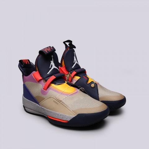 мужские мультиколор  кроссовки jordan 33 AQ8830-200 - цена, описание, фото 3
