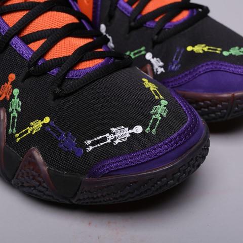 мужские оранжевые, чёрные  кроссовки nike kyrie 4 dotd tv pe 1 CI0278-800 - цена, описание, фото 6