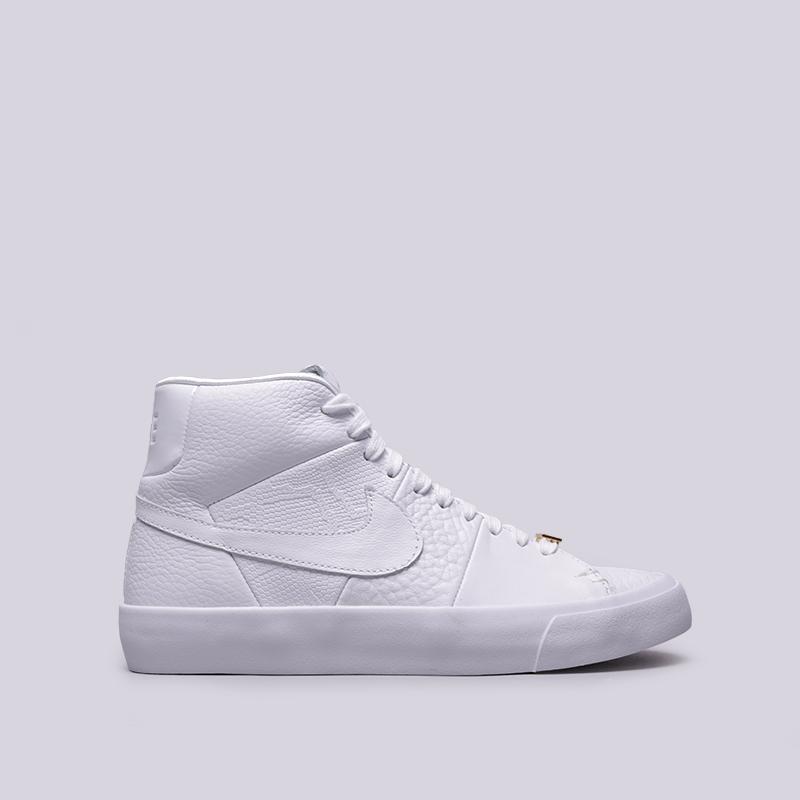 a7278b51 мужские белые кроссовки nike blazer royal qs AR8830-100 - цена, описание,  фото