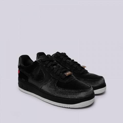 мужские чёрные  кроссовки nike air force 1 '07 qs AH8462-003 - цена, описание, фото 3