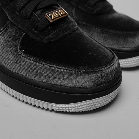 мужские чёрные  кроссовки nike air force 1 '07 qs AH8462-003 - цена, описание, фото 6