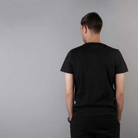 мужскую чёрную  футболка sneakerhead один дома Alone tee - цена, описание, фото 4