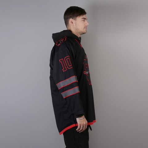 мужской чёрный  хоккейный свитер sneakerhead shd jersey Jersei snkrh - цена, описание, фото 3