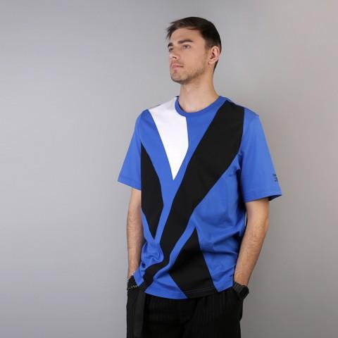мужскую синюю  футболка reebok vector tee DH1274 - цена, описание, фото 2