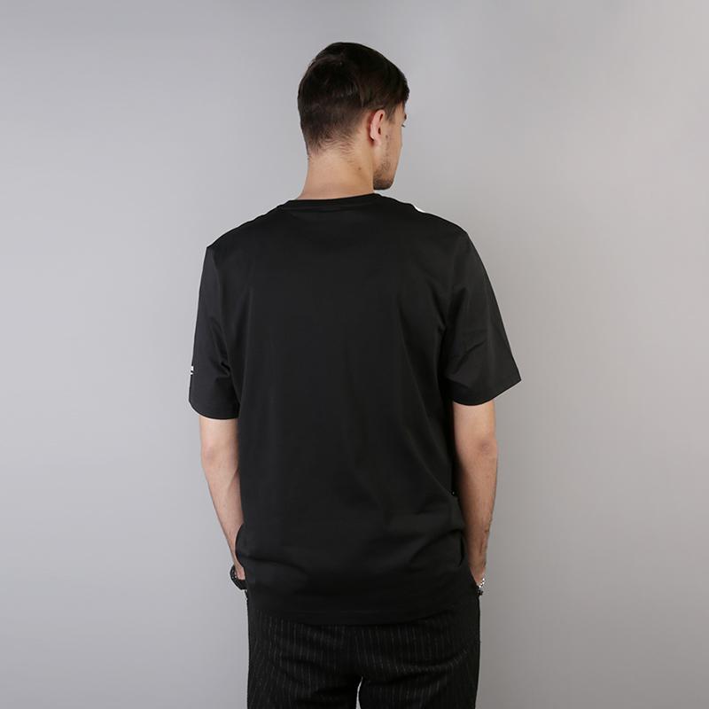 мужскую чёрную  футболка reebok vector tee DH1275 - цена, описание, фото 4
