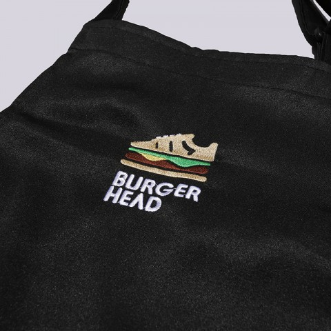 чёрный  фартук sneakerhead burgerhead Apr Burg/head - цена, описание, фото 2