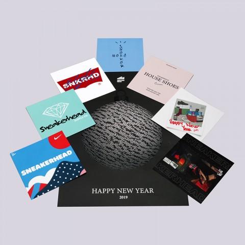 Новогодняя Открытка Sneakerhead Black