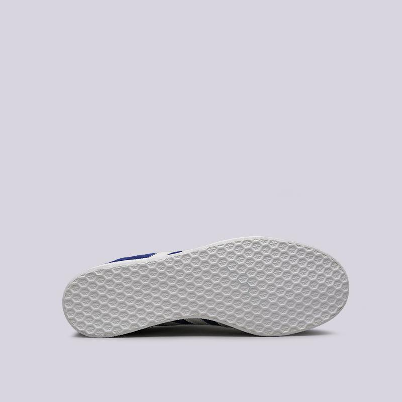 мужские синие  кроссовки adidas gazelle B41648 - цена, описание, фото 2