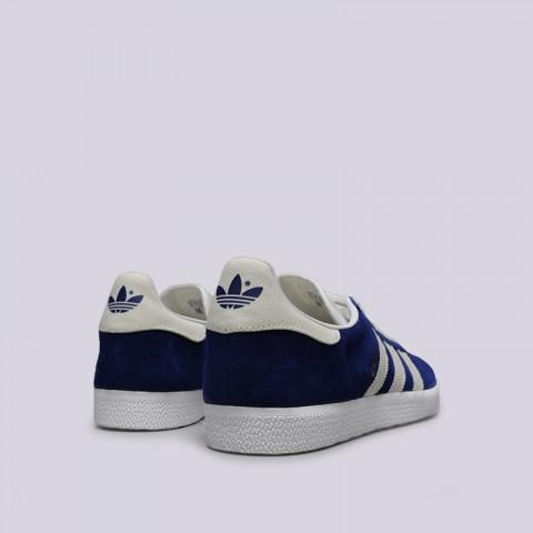 мужские синие  кроссовки adidas gazelle B41648 - цена, описание, фото 4