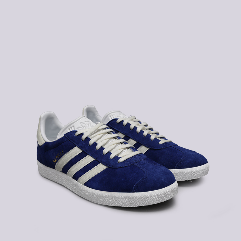 мужские синие  кроссовки adidas gazelle B41648 - цена, описание, фото 3