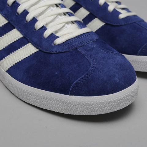 мужские синие  кроссовки adidas gazelle B41648 - цена, описание, фото 5