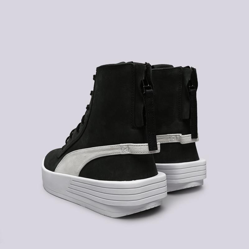 чёрные  кроссовки puma xo parallel 36503905 - цена, описание, фото 4