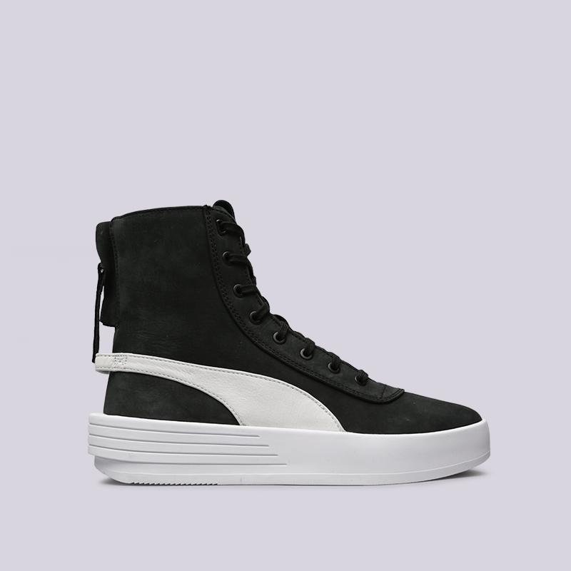 чёрные  кроссовки puma xo parallel 36503905 - цена, описание, фото 1