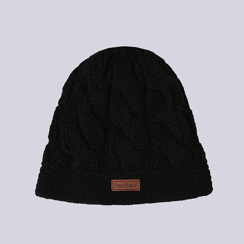 черную  шапка penfield trailwear 0268W11.001 - цена, описание, фото 1