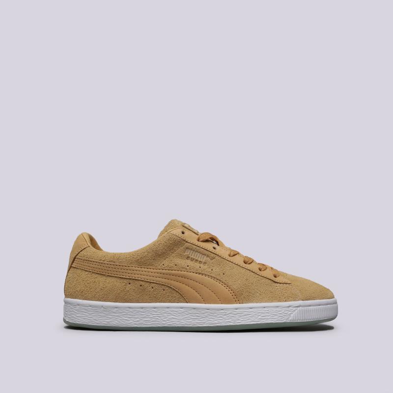 мужские бежевые  кроссовки puma suede classic x chapter ii 36632601 - цена, описание, фото 1