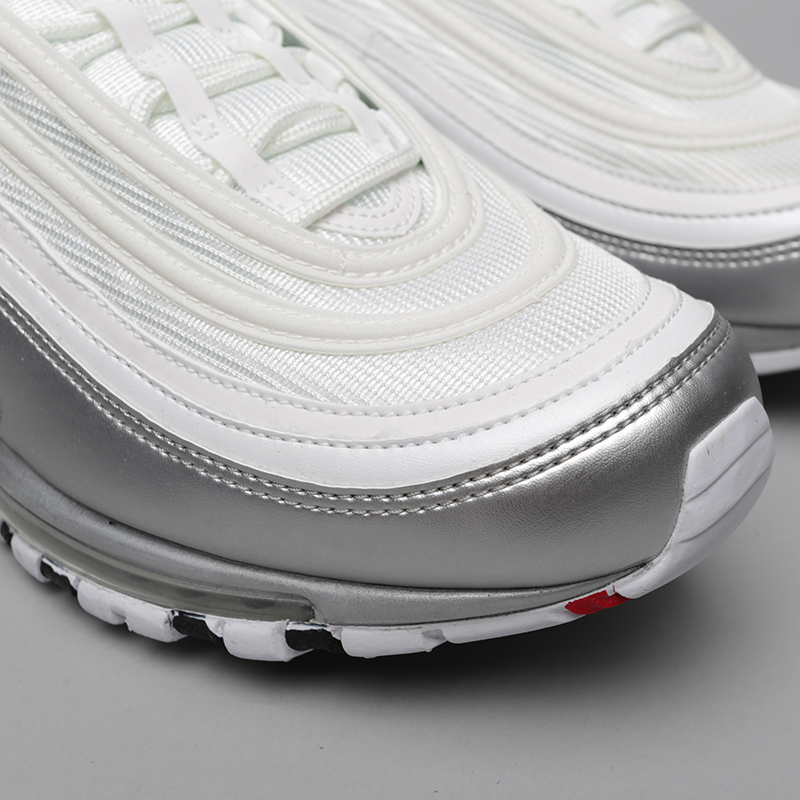 9e369c03 мужские белые кроссовки nike air max 97 qs AT5458-100 - цена, описание,