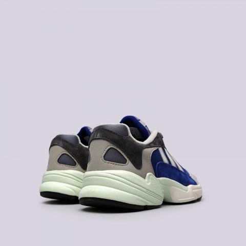 мужские синие, серые  кроссовки adidas yung-1 AQ0902 - цена, описание, фото 4