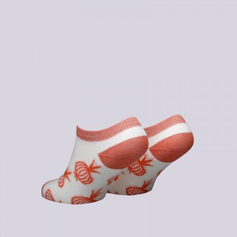женские бежевые  носки запорожец heritage лук WЛук-корот бел/орнж - цена, описание, фото 2