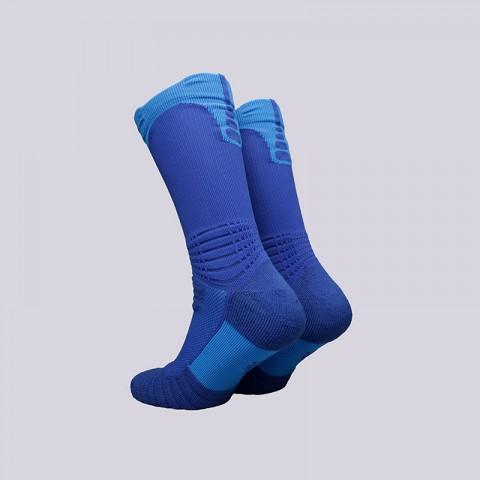 мужские синие  носки nike elite versatility crew SX5369-480 - цена, описание, фото 2