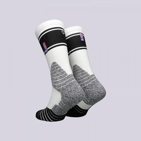 мужские белые  носки stance crew bold stripe M559D6CRBS-W - цена, описание, фото 2
