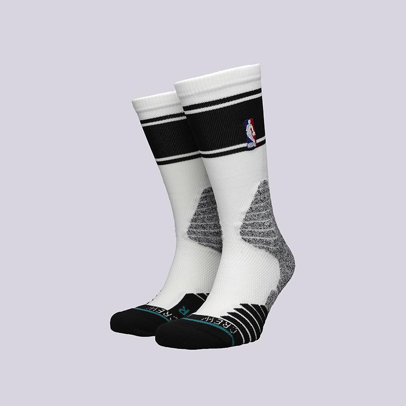 мужские белые  носки stance crew bold stripe M559D6CRBS-W - цена, описание, фото 1