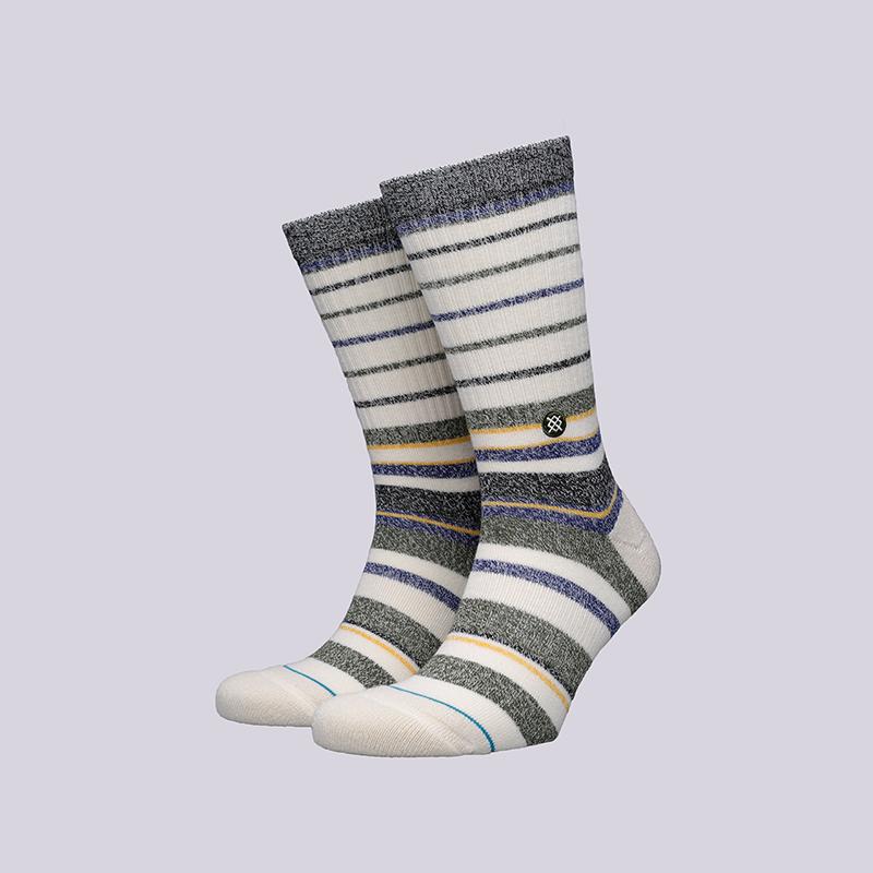 мужские бежевые  носки stance castro M556A18CAS-NAT NATURAL - цена, описание, фото 1