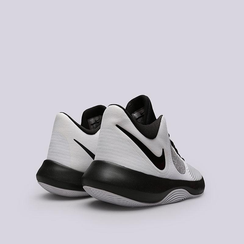 best service 4e06f d0670 белые, черные кроссовки nike air precision ii AA7069-100 - цена, описание,