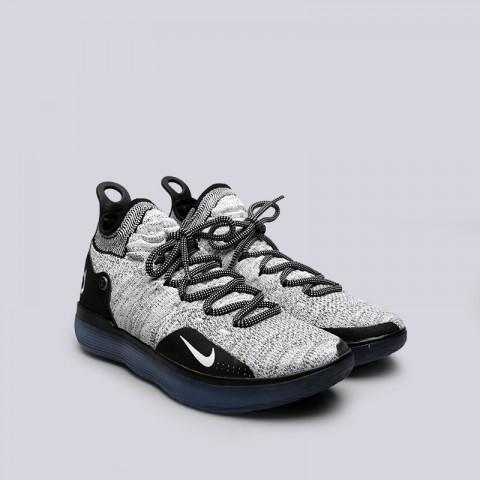 чёрные, белые  кроссовки nike zoom kd11 AO2604-006 - цена, описание, фото 3