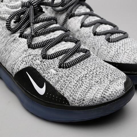 чёрные, белые  кроссовки nike zoom kd11 AO2604-006 - цена, описание, фото 5