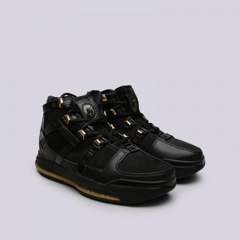 мужские чёрные  кроссовки nike zoom lebron iii qs AO2434-001 - цена, описание, фото 3
