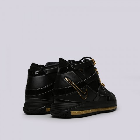 мужские чёрные  кроссовки nike zoom lebron iii qs AO2434-001 - цена, описание, фото 4