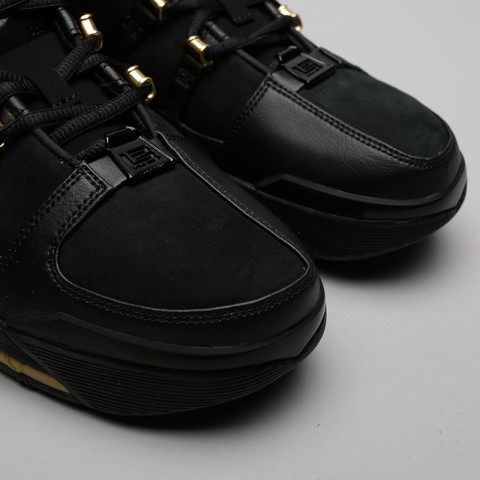 мужские чёрные  кроссовки nike zoom lebron iii qs AO2434-001 - цена, описание, фото 5