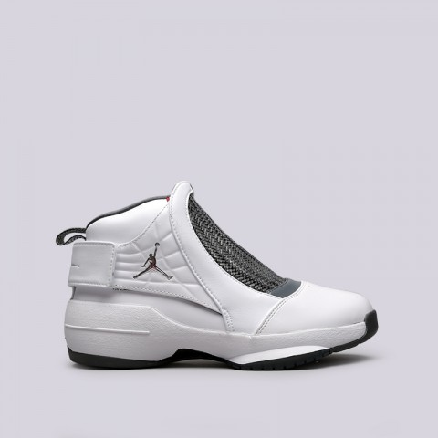 мужские белые  кроссовки jordan 19 retro AQ9213-100 - цена, описание, фото 1