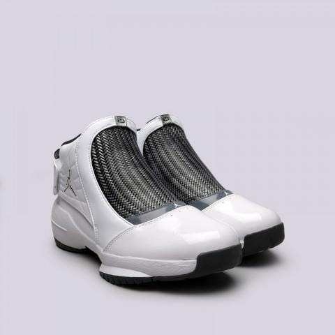 мужские белые  кроссовки jordan 19 retro AQ9213-100 - цена, описание, фото 3