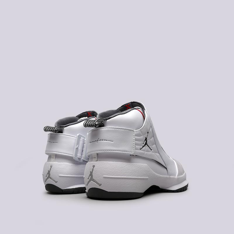 мужские белые  кроссовки jordan 19 retro AQ9213-100 - цена, описание, фото 4