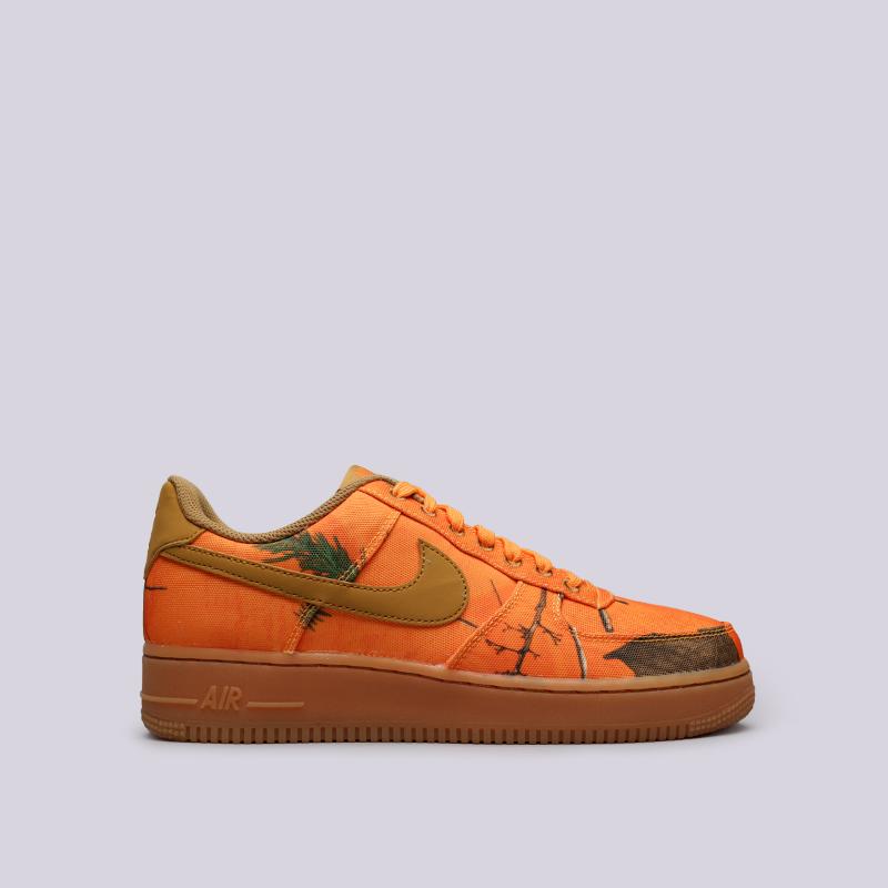 hot sale online 5d105 a3c1e мужские оранжевые кроссовки nike air force 1 07 lv8 3 AO2441-800 - цена