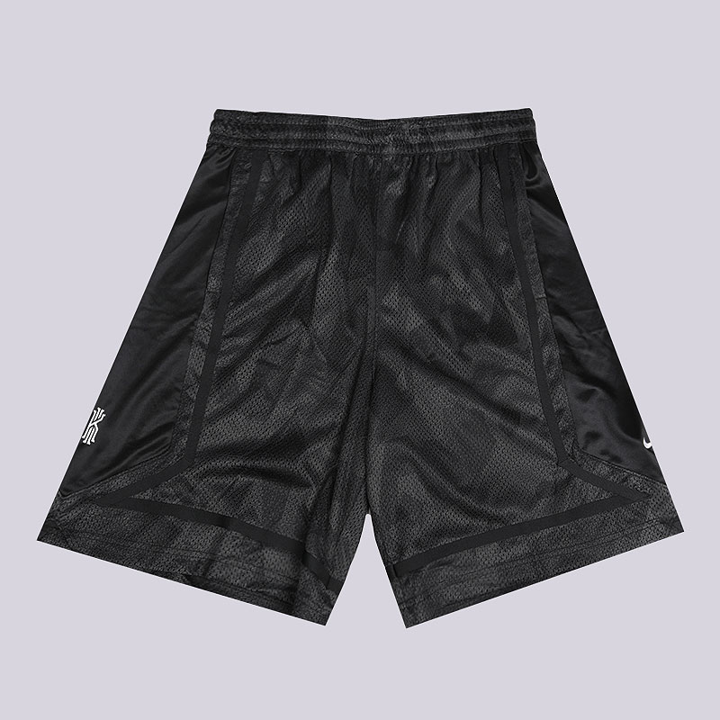 мужские черные  шорты nike kyrie dri-fit elite basketball shorts AJ3455-065 - цена, описание, фото 1