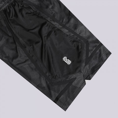 мужские черные  шорты nike kyrie dri-fit elite basketball shorts AJ3455-065 - цена, описание, фото 3