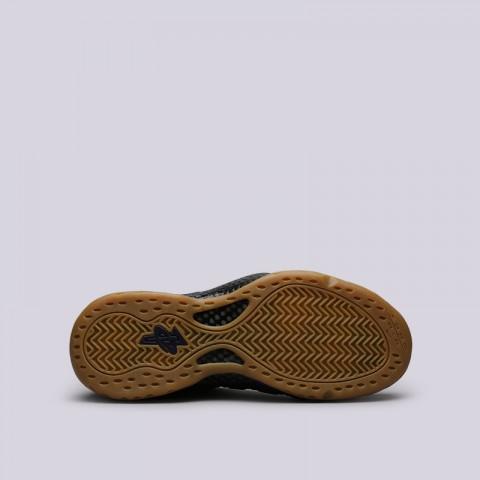 мужские синие  кроссовки nike air foamposite one 314996-405 - цена, описание, фото 4