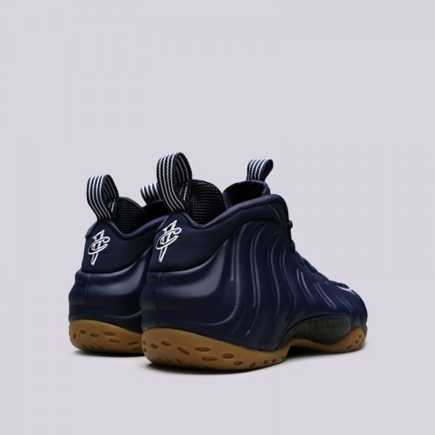 мужские синие  кроссовки nike air foamposite one 314996-405 - цена, описание, фото 3